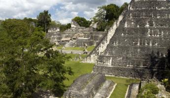 The ruins at Tikal