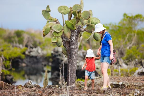Family-friendly hiking in the Galapagos