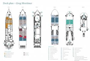 Greg Mortimer Deck Plan
