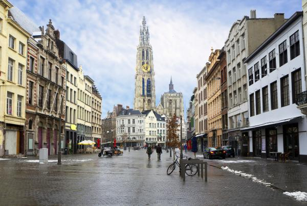 Stroll through charming Antwerp, Belgium