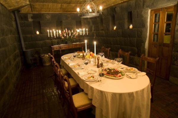 Dine in style at the Hacienda San Augustin de Callo
