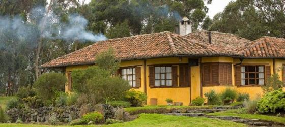 Another view of the beautiful Inca House at Hacienda San Augustin de Callo
