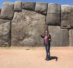 Largest stone in Sacsayhuaman