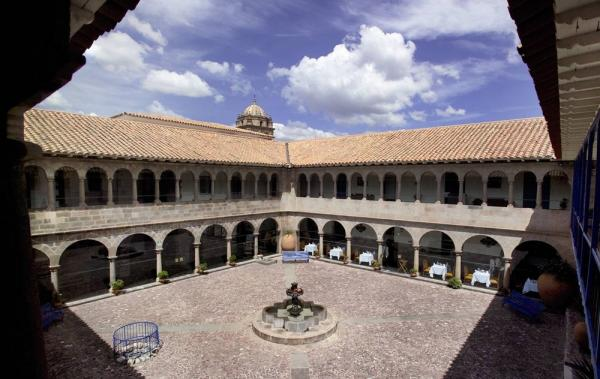 A view of the Courtyard