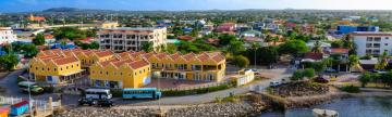 Colorful harbor of Bonaire