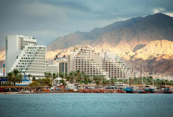 Sunset over Eilat