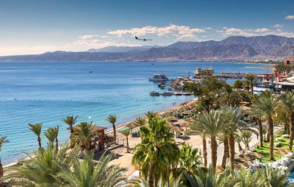 Enjoy the calm waters of the Red Sea