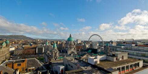 View over Belfast