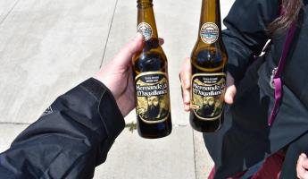 Punta Arenas, Chile - local brews