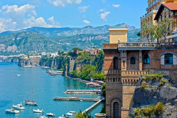 Italy's incredible architecture and scenery
