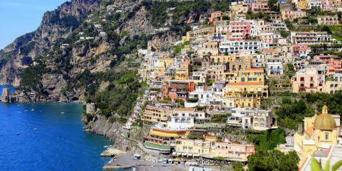 Explore Italy's colorful Amalfi coast
