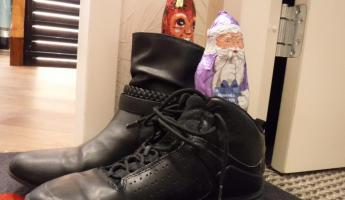 Amalea- Leaving Shoes Out for Santa or Krampus