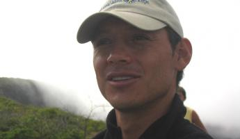 Our guide in the Galapagos