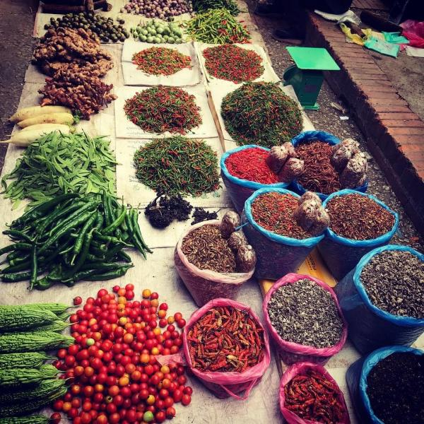 Markets in Luang Prabang