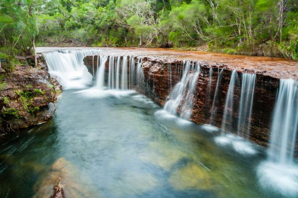 Waterfall in the Australian outback