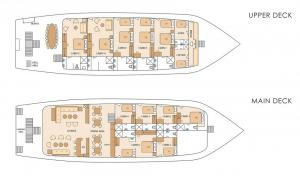 M/Y Solaris deck plan
