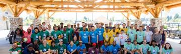 Participants of the World Refugee Day Community Celebration and Soccer Tournament