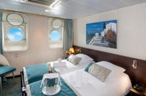 Main deck cabin on Ms La Belle de L'Adriatique