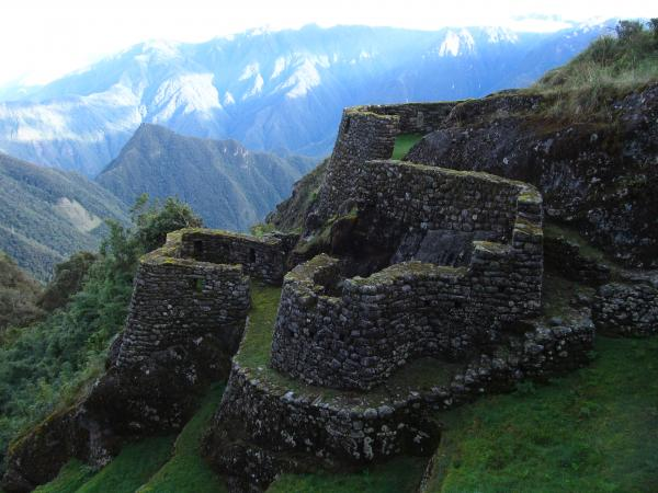 Ruins along Inca Trail