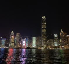 Hong Kong Skyline from Star Ferry