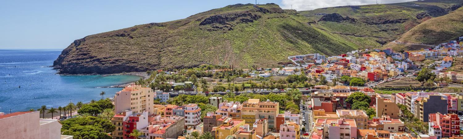 Colorful Canary Islands