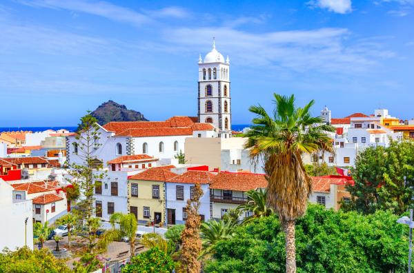 Wander through sunny Tenerife