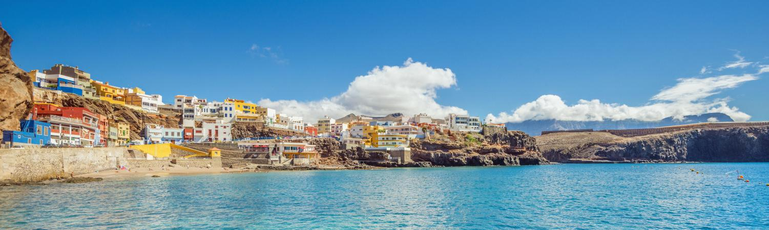 Relax in the colorful Canary Islands