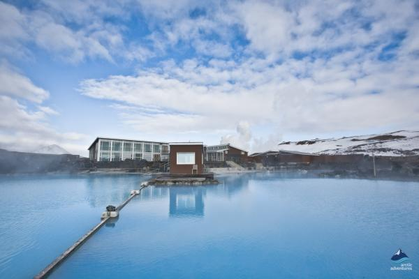 Soak in the pools at Myvatn, North Iceland