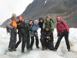 Group photo during the Fitzroy Trek