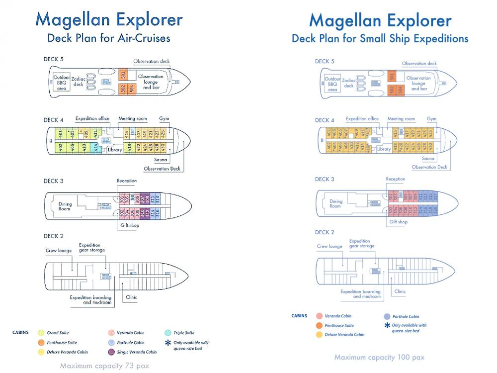Magellan Explorer Deck Plan