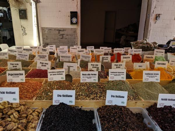 Spices at Sicilian Market