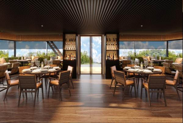 Aqua Nera Dining Room