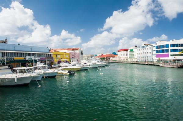 Explore colorful Bridgetown, Barbados