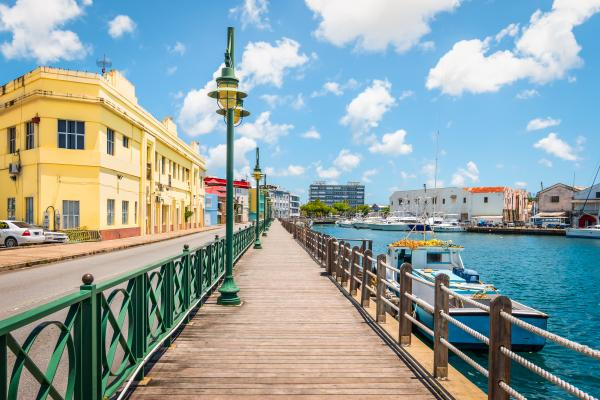 Take a leisurely stroll through beautiful Bridgetown
