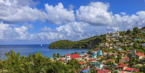 Wander through historic St. Lucia
