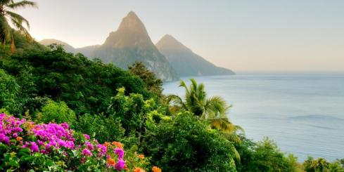 Enjoy the natural beauty of the Caribbean