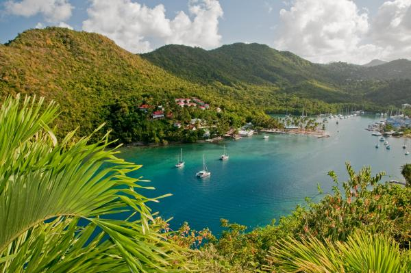 Hike around beautiful St. Lucia for stunning views