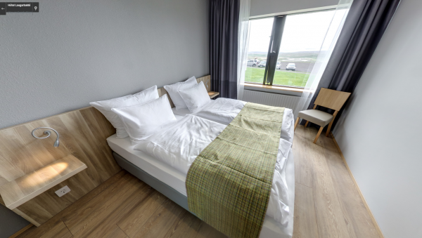 Enjoy a comfortable stay at Hotel Laugarbakki