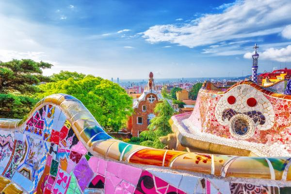 Wander through Gaudi's masterpiece, Parc Güell