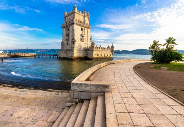 Visit the historic Belem tower near Lisbon