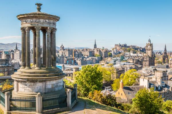 Discover the rich history of Edinburgh