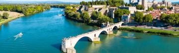 Stop in Avignon on your cruise of the Rhône river.