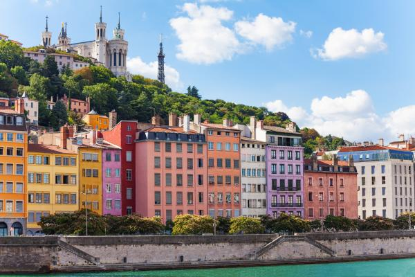 Visit colorful Lyon