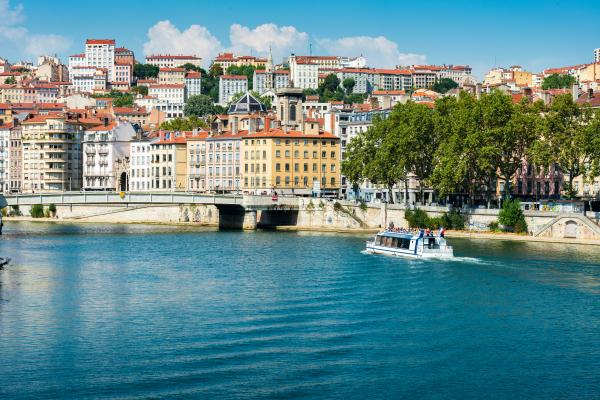 Cruise the Rhone river in charming Lyon