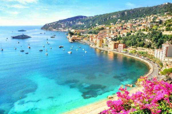 Relax on France's colorful coast