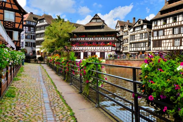 Stroll through charming Strasbourg