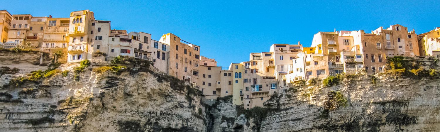 Explore historic Bonifacio atop the cliffs of Corsica