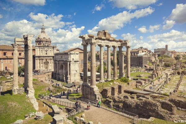 Explore the ancient Roman Forum