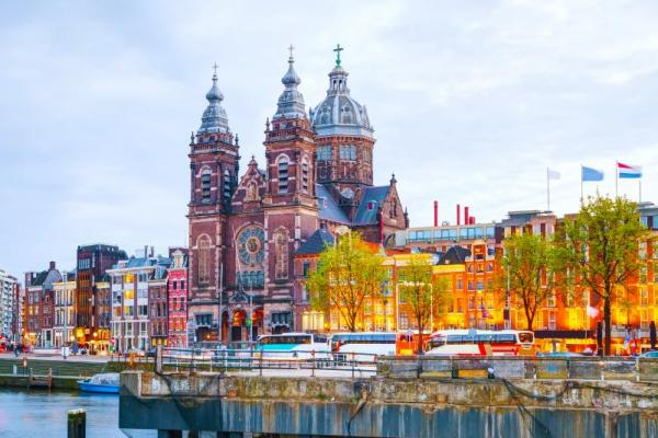 Explore beautiful Amsterdam