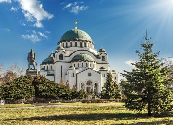 Admire the architecture of Belgrade